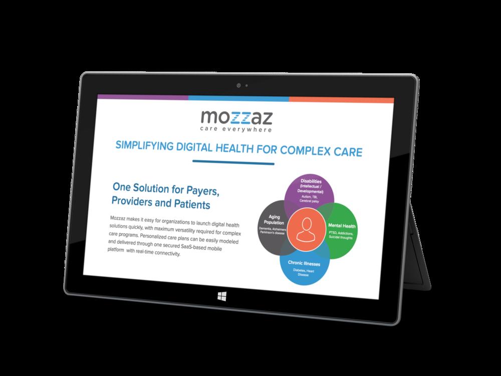 The Mozzaz Solution Sheet