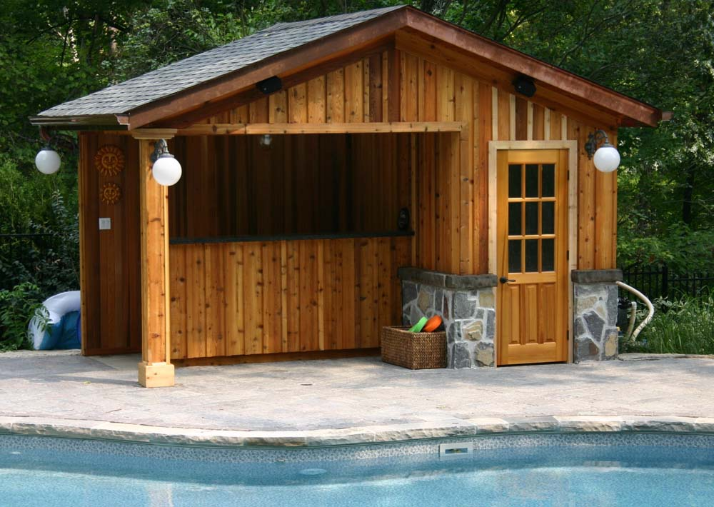 cabanas and pool houses darsan