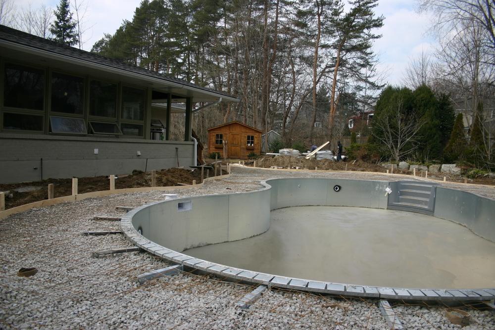 Inground Swimming Pool Construction Darsan