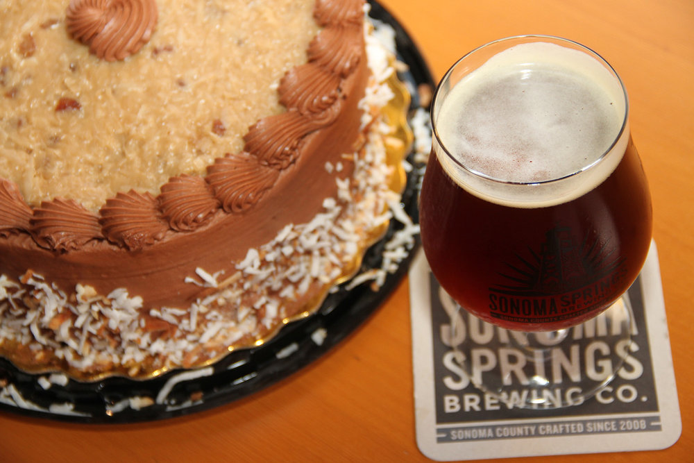 German Chocolate Cake and Doppelbock