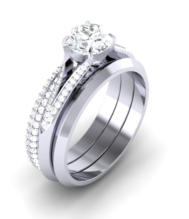 Flame Ring, Full Eternity & Wedding Ring