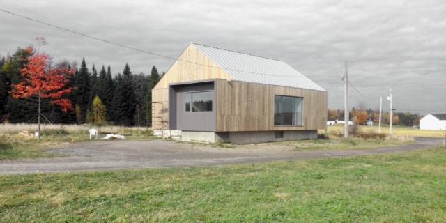 Maison des champs elevation sud