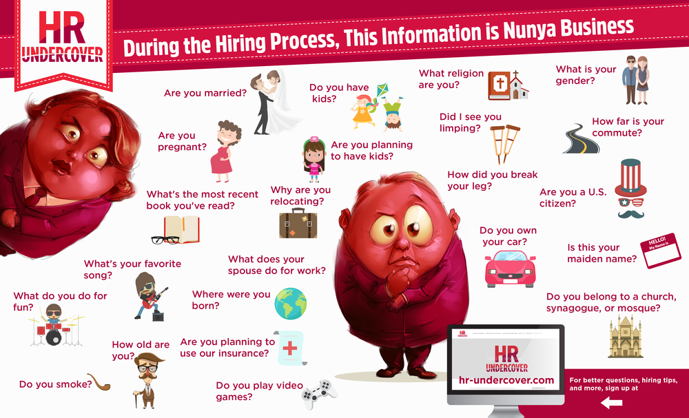 Bad Interview Questions - Nunya Business!
