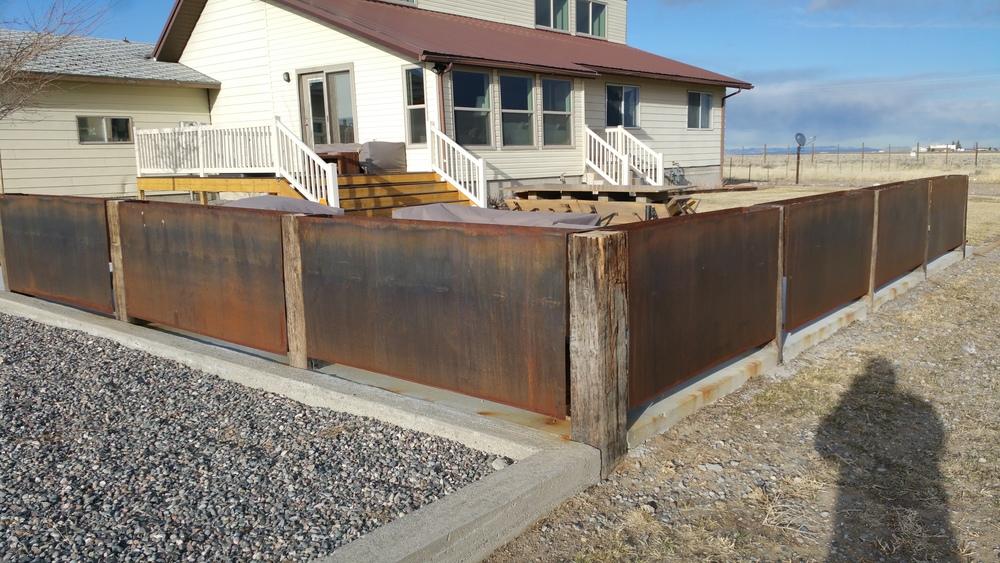 Reclaimed Woodworking Railroad Tie Furniture Privacy Fence Privacy Fence  Farm Railroad Ties