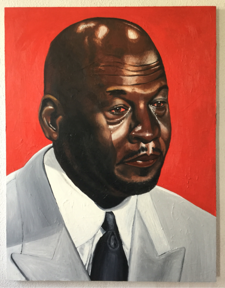 Philly Artist Brandon Grumbling Has Painted The Crying Michael ... 8d9ebe4c1704
