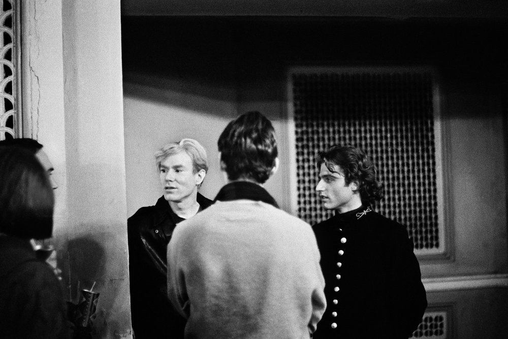 Andy Warhol and Gerard Malanga. Photo: The Estate of Sam Moskovitz