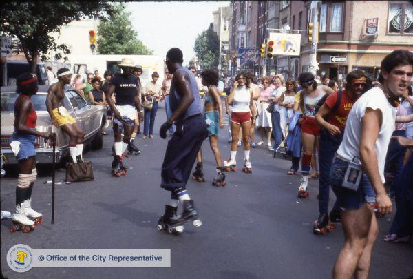 Philly street festival, circa 1982. Via: PhillyHistory.org