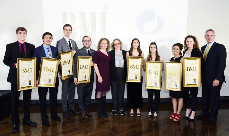 """All of us at BMI are so impressed with this year's talented young composers, and we are honored to have a front row seat as they embark on this exciting journey towards a professional life in music,"" said Deirdre Chadwick, Director of the Student Composer Awards. ""I hope that this award will give them the confidence to continue pursuing their passion for creating music and sharing it with others."