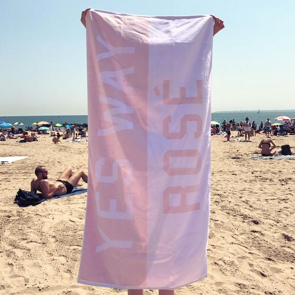 Yes Way Rosé Towel $75