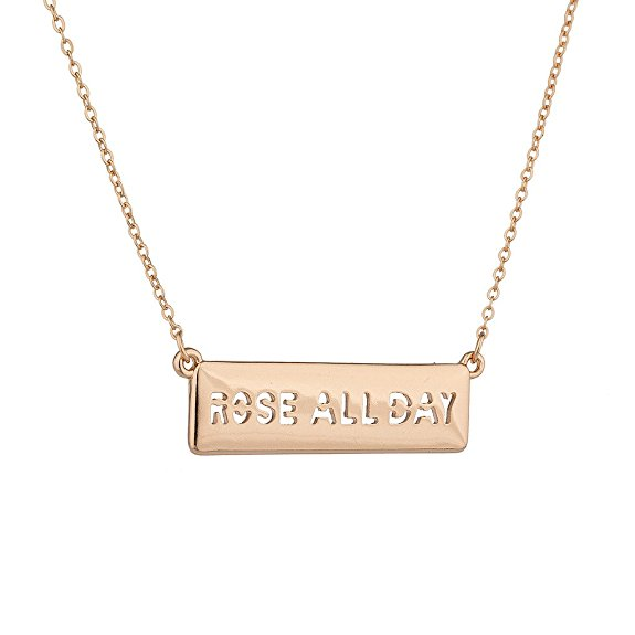 Rosé All Day Necklace $9