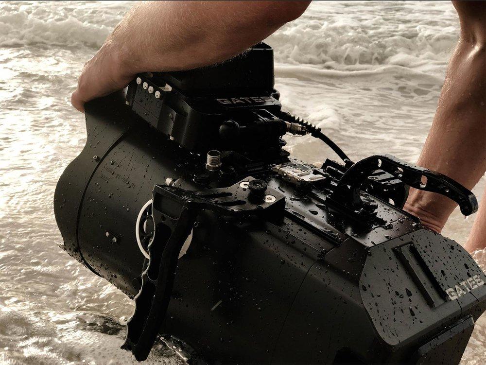 Tim Patton Filming With Gates Underwater Housing Unit