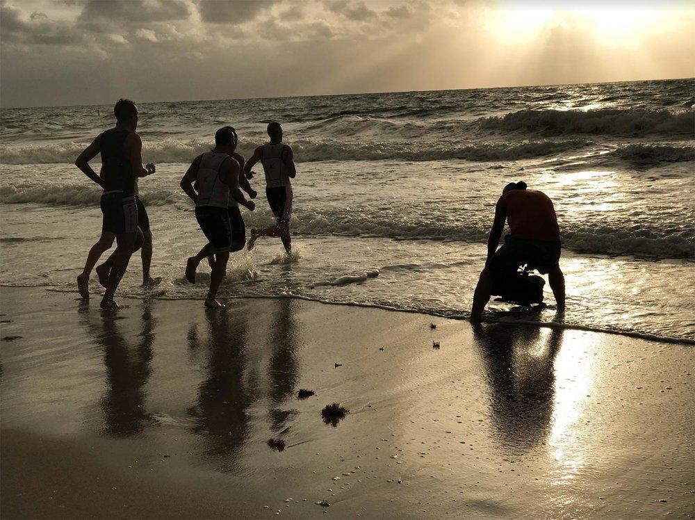 Filming Triathletes With Gates Underwater Housing Unit
