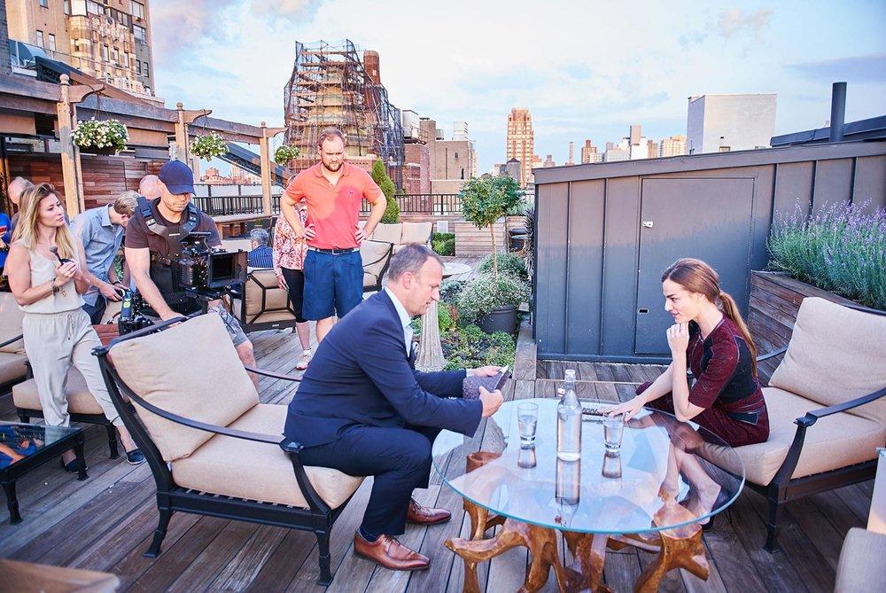Rooftop Scene In Upper East Side
