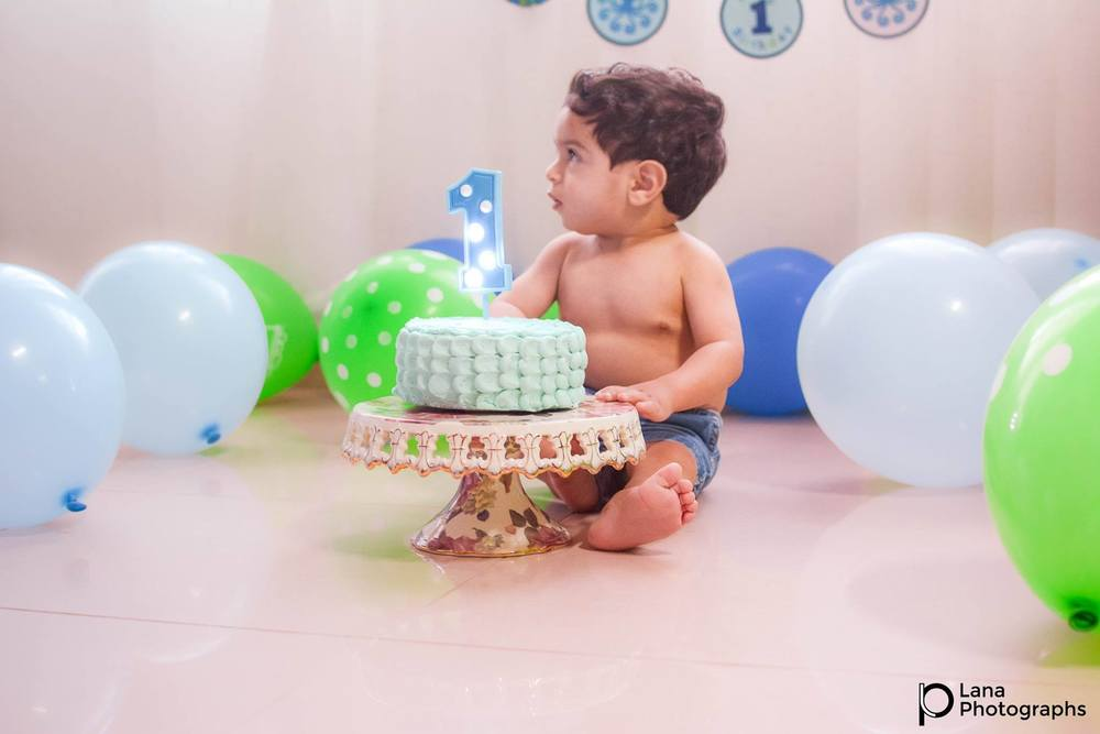 Boy Cake Smash in Al-Ain