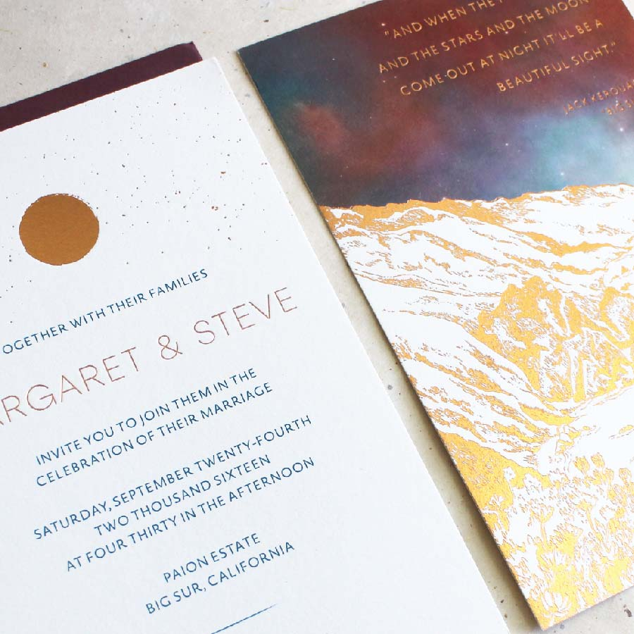 COSMIC BIG SUR WEDDING SUITE