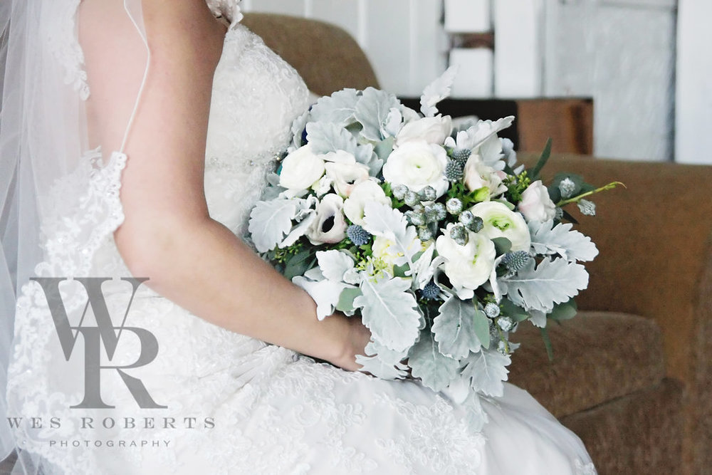 Kara's bouquet by Tori Brinson Designs.