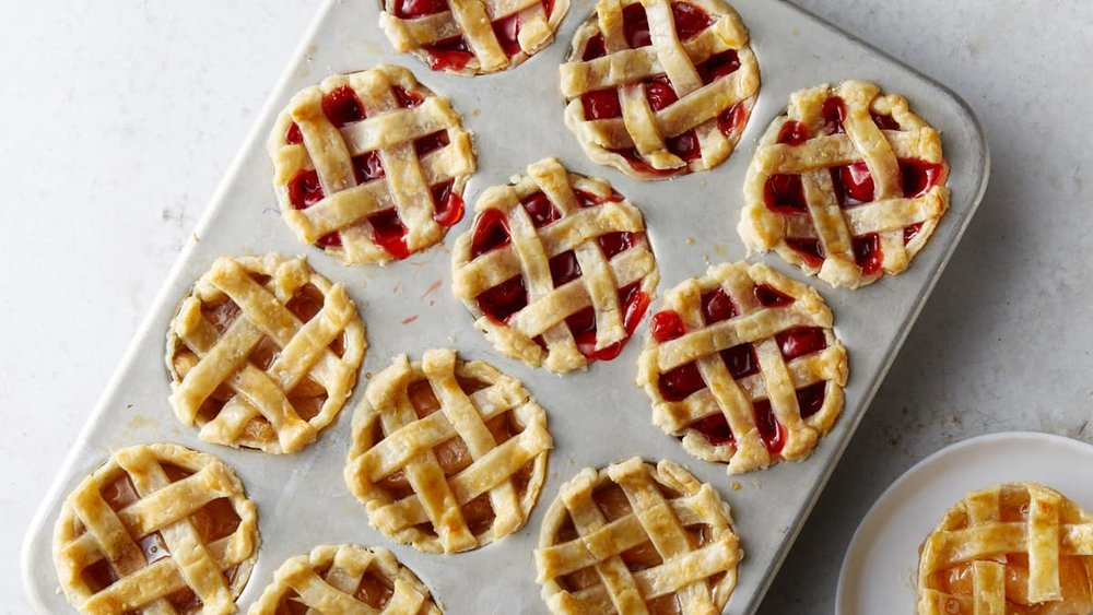 offer mini versions of your favorite pie flavors as an adorable option for something sweet. - Image Credit: Delicious