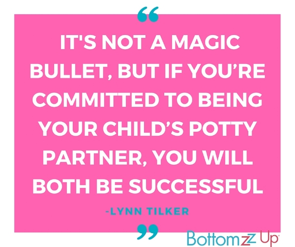 potty training magic bullet quote