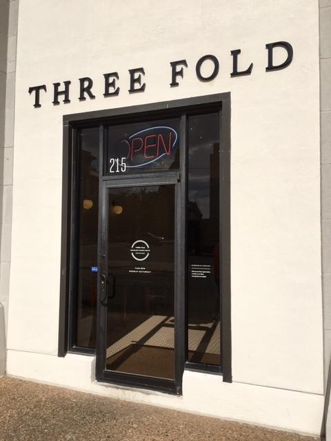 Entrance of Three Fold Noodle & Dumpling Co.