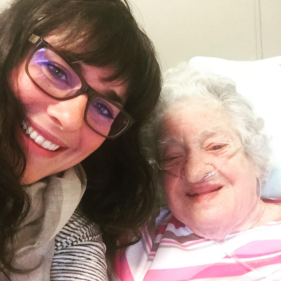 Me and Nana, healing and living.