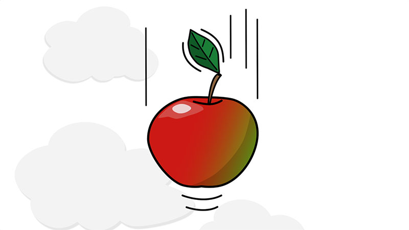 A simple Animation can be worth its weight in apples
