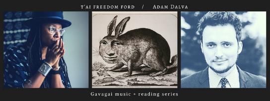 Thurs, March 15th, 2018 @ 8PM, at SPECIAL LOCATION - 326 E 17th St, Brooklyn, NY 11226:  t'ai freedom ford ,  Adam Dalva