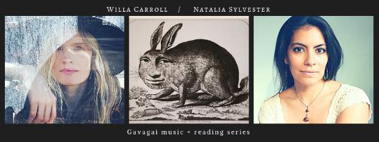 Thurs, September 20th, 2018 @8PM, The Owl:  Natalia Sylvester ,  Willa Carroll