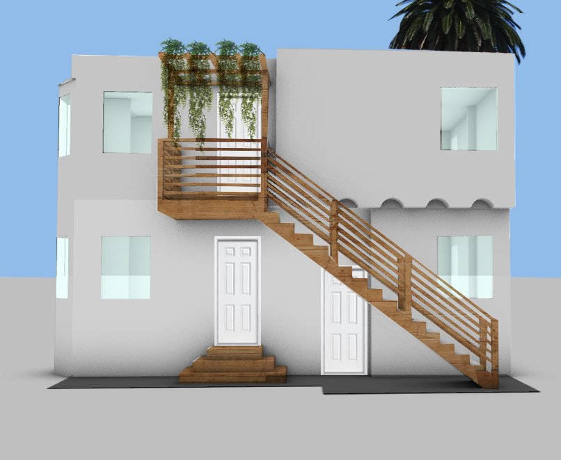West Adams 2 story addition