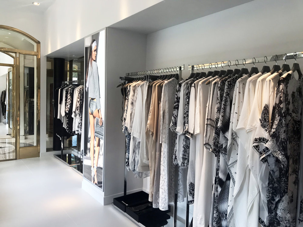 Marie France Van Damme, Beverly Hills, retail store design, interior design, tenant improvement