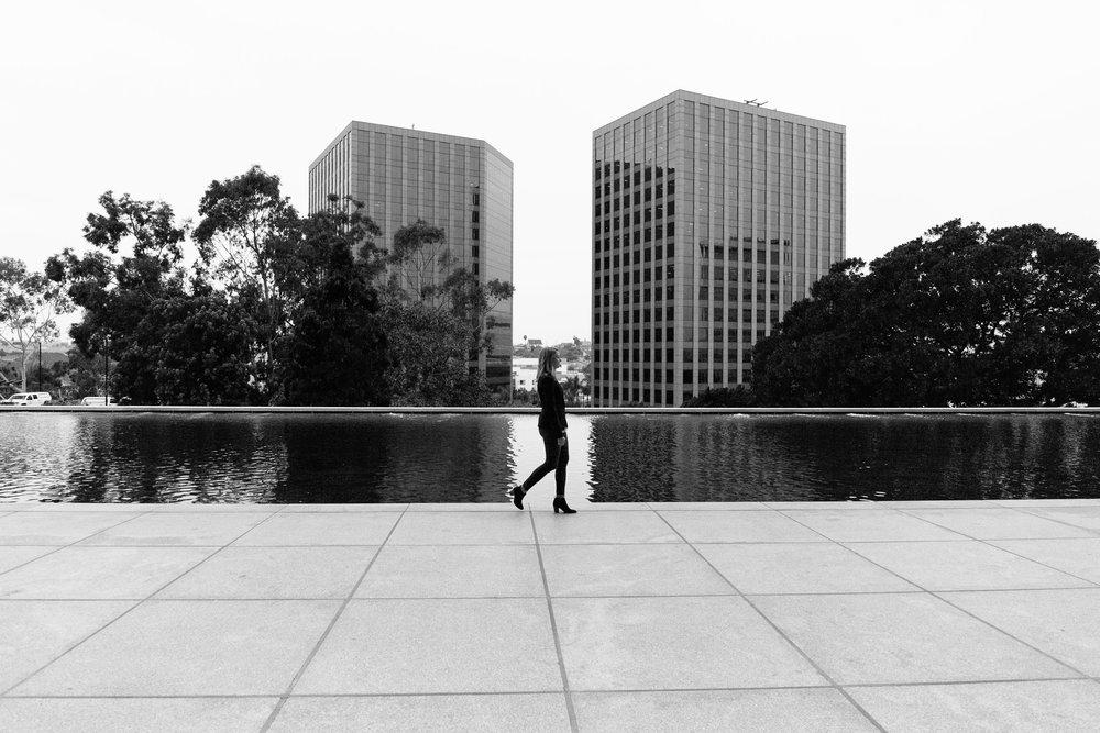 Taryn Bone, architect, downtown Los Angeles, editorial