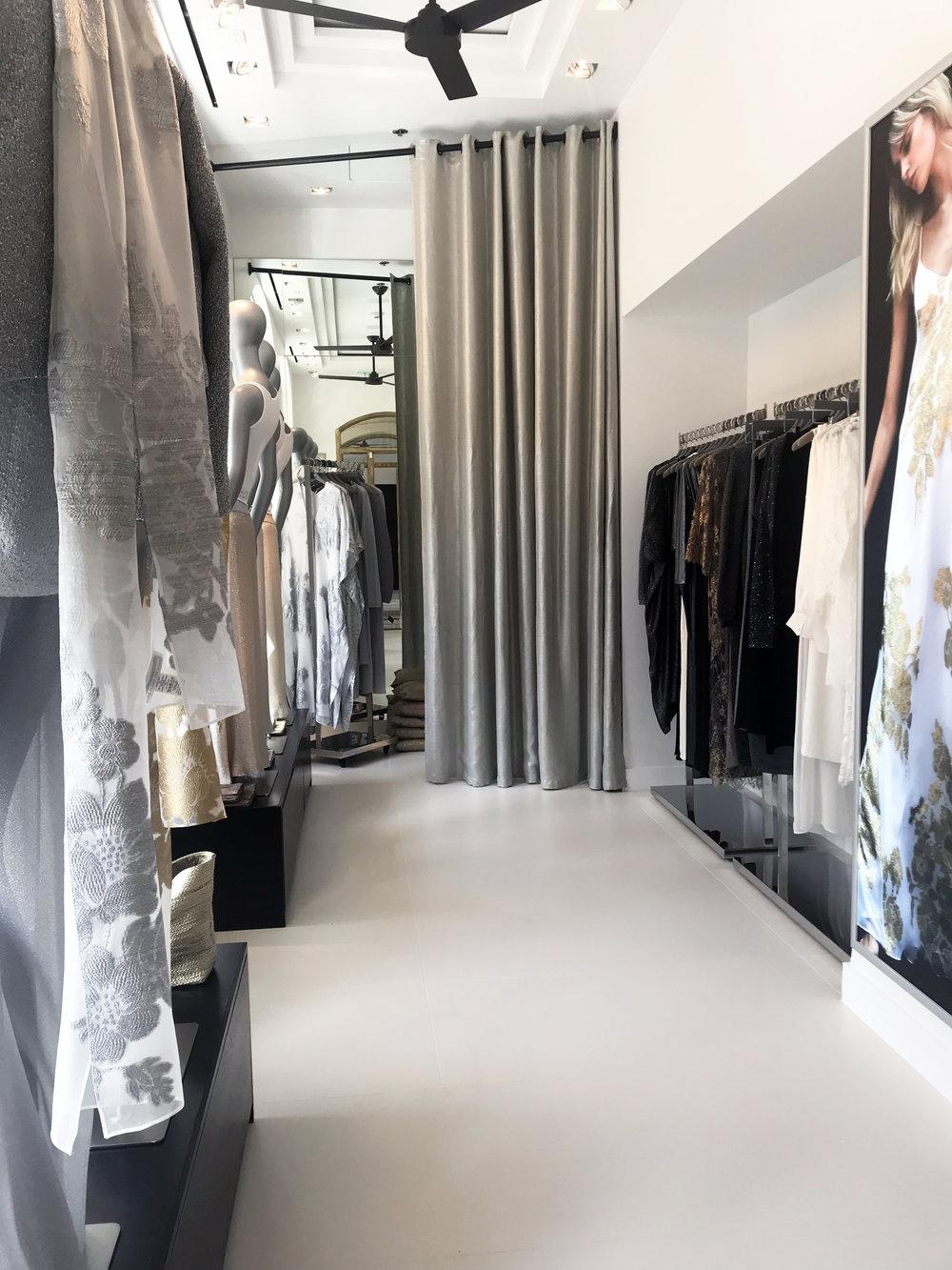 Marie france van Damme retail design storefront interior design commercial