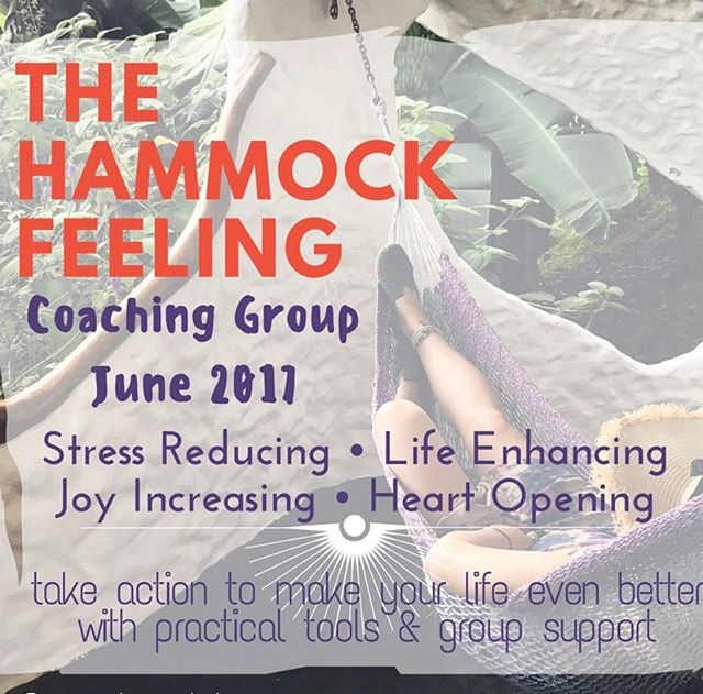 "It is official. I am stepping out into the world with more offerings. If you enjoy my instaposts, insight, and attitude for life please join me for a group coaching experience this June! This will be a 4 week virtual program of self-reflection and goal setting to move you toward having what I call ""The Hammock Feeling."" To learn more about The Hammock Feeling and the 4 week curriculum contact me and we'll discuss more details. Hope you will consider joining me. Please pass along my info to anyone who might be interested! #relax #unwind #happiness #motivation #goals #vacation #hammock #lifecoach #healthcoach #coaching #teamwork #dreamteam #tools #innerwork #souljourney #transformation #support #imaginecreatelove"