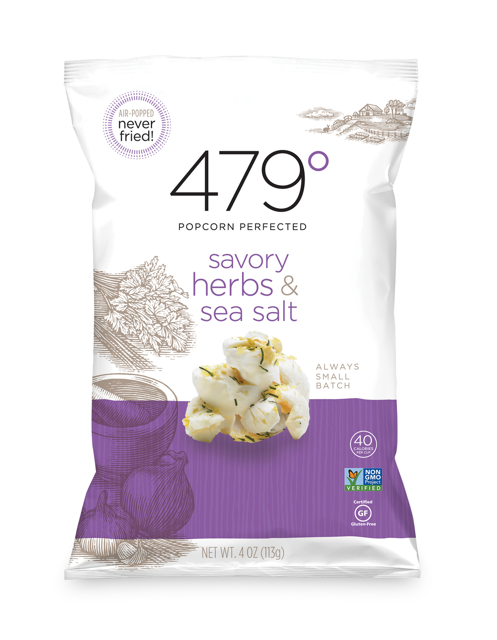 4oz savory hearbs & sea salt