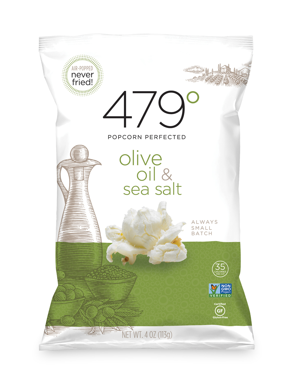 4oz olive oil & sea salt