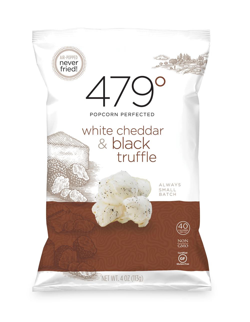4oz white cheddar & blck truffle