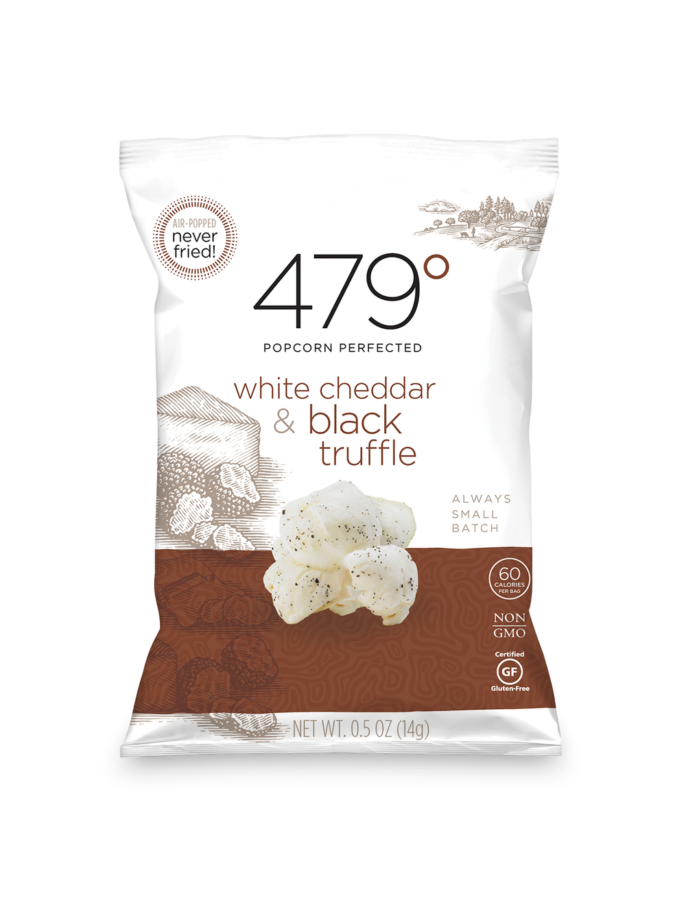 .5oz white cheddar & black truffle