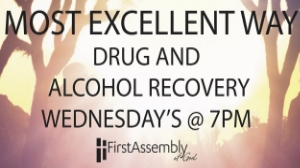 If you are struggling with a life dominating addiction then the M.E.W. is for you. We meet every Wednesday at 7:00pm and would love to help you along in your journey!