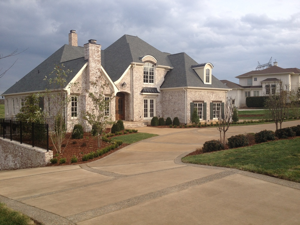 Offering decorative concrete services gives you access to jobs like this.