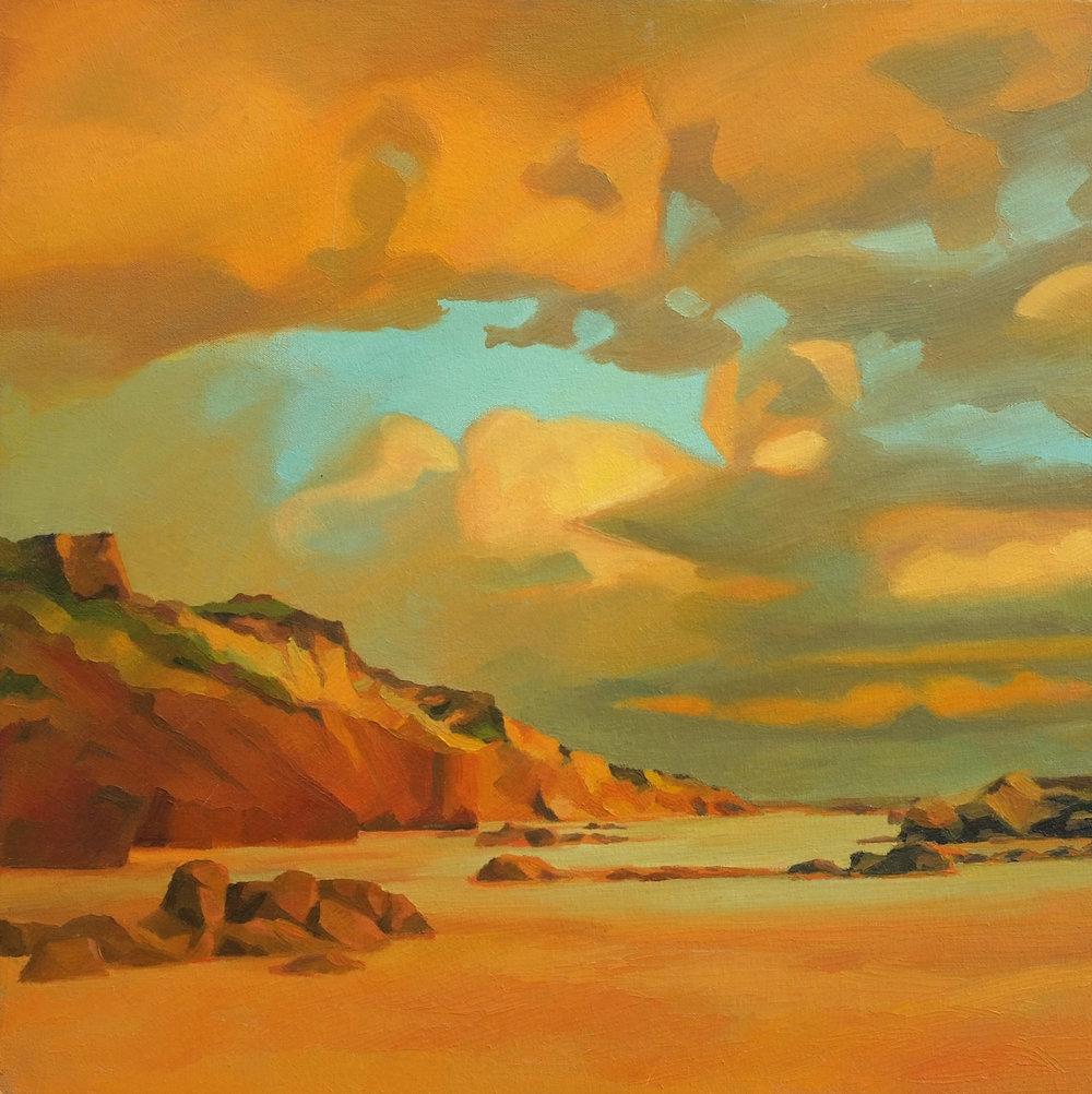 Cliffs at Sundown