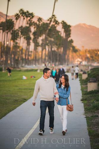 Santa Barbara, California , Cabrillo Walking Path