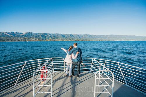 Santa Barbara, California , Condor Express Whale Watching Tour