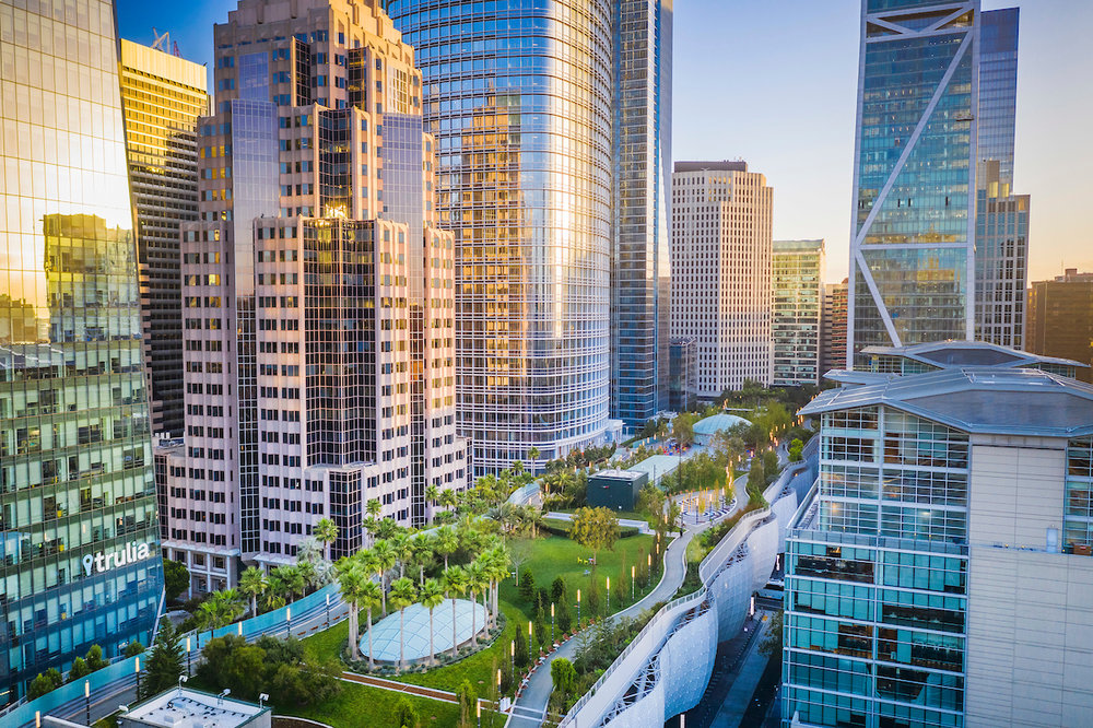Salesforce Park, Transit Center, San Francisco, CA