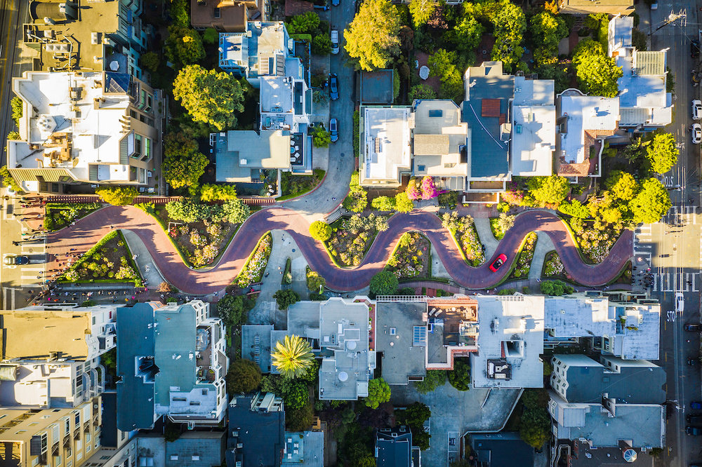 Lombard St, San Francisco, CA