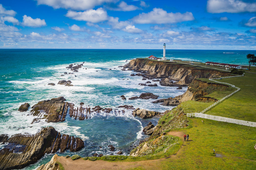 Point Arena Lighthouse and Stornetta Public Lands, Point Arena, California
