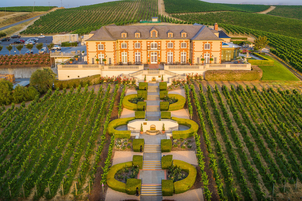 Domaine Carneros Winery and Sparkling Wine Tasting Room.