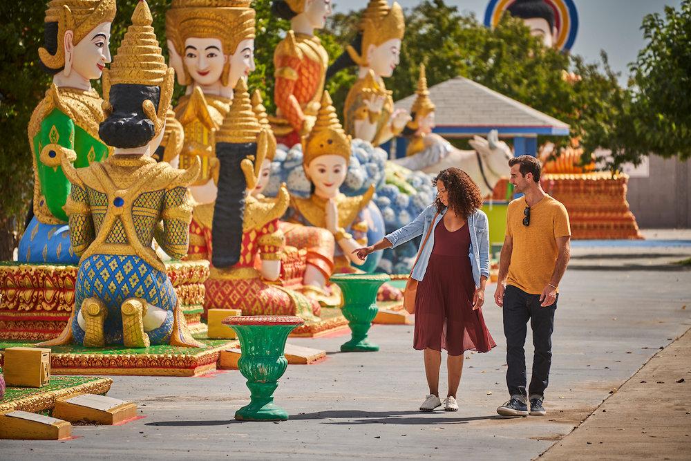 Wat Dhammararam Buddhist Temple, Stockton, California