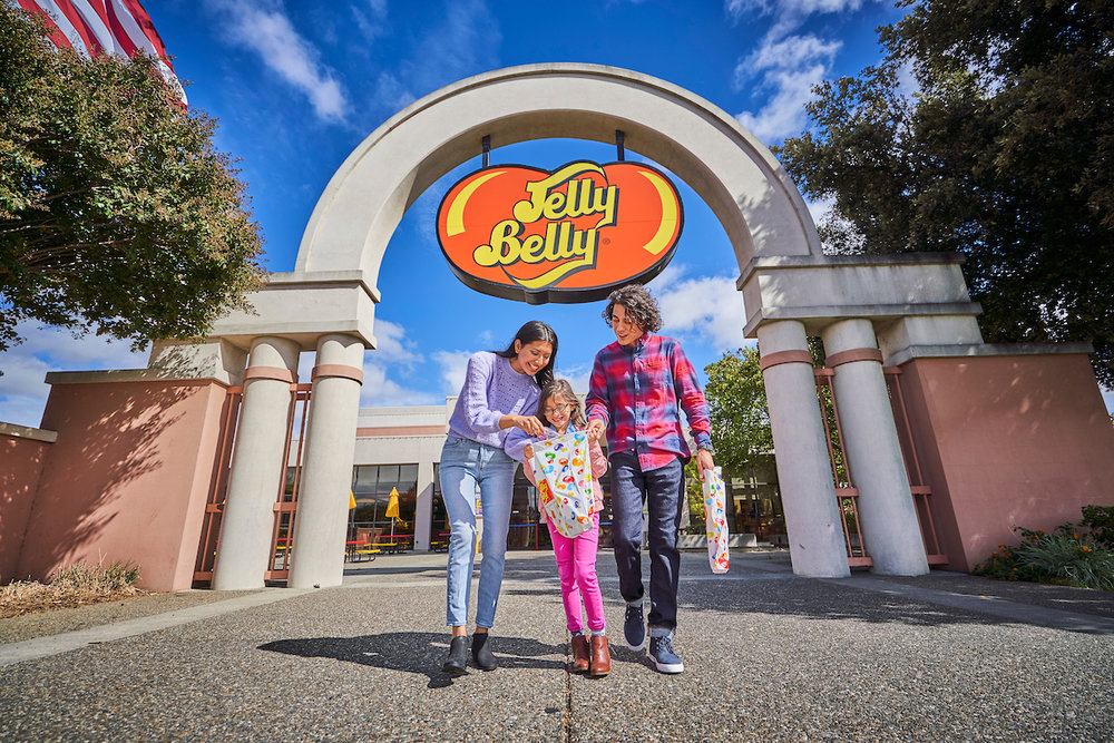 Jelly Belly Factory Tour, Fairfield, California
