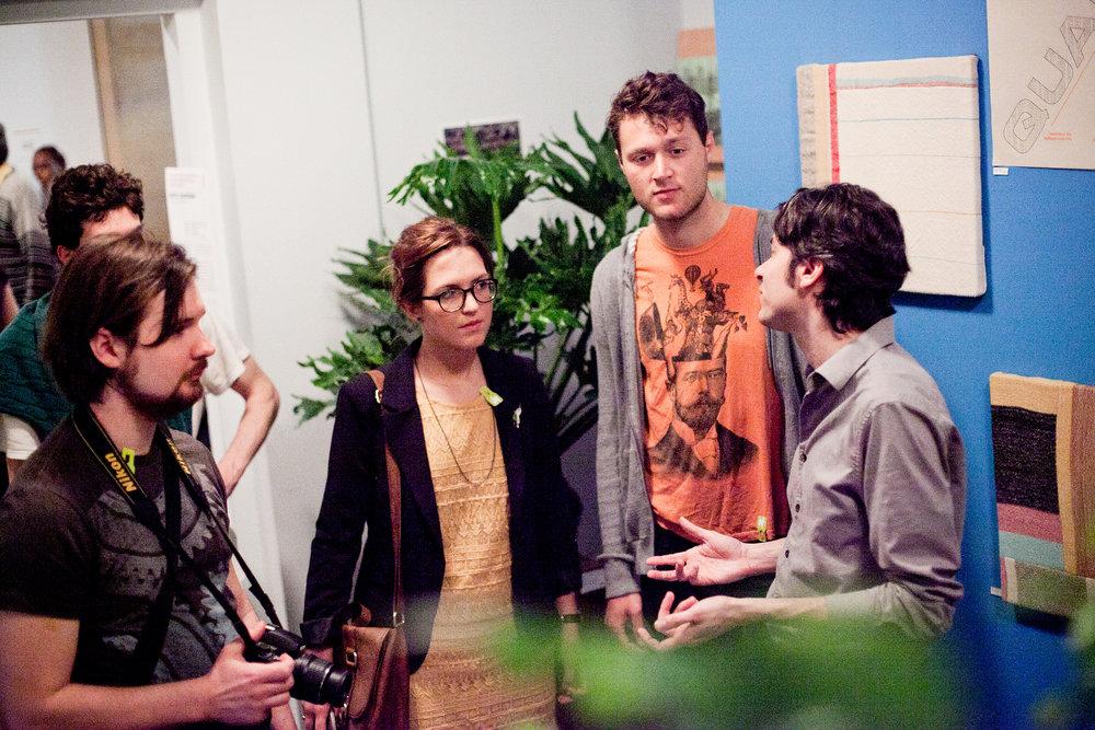 Jon Shapiro visits Data Garden Quartet