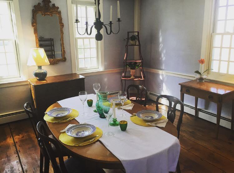 Large formal dining room.
