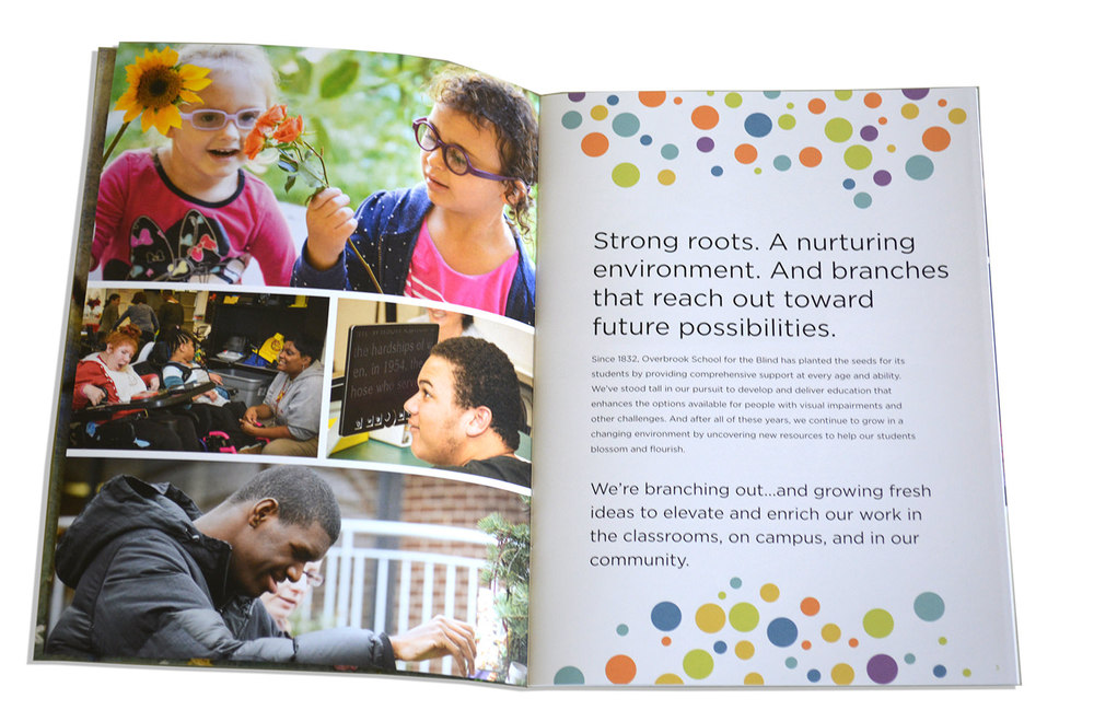 Overbrook Annual Report Spread